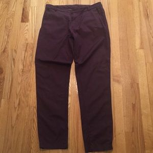 Lululemon commission pant pelt 34